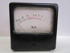 ECEM Ohmètre de tableau 0 à 100 kOhm Vintage (n°7)