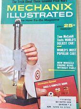 Mechanix Illustrated Magazine Engines Without Fuel February 1965 082917nonrh