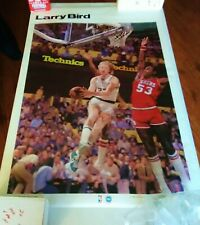 VINTAGE SPORTS ILLUSTRATED POSTER LARRY BIRD  24X36 1981 STARLINE