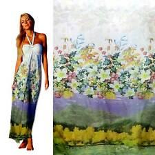 Polyester chiffon fabric digital printed pretty flower 30D 33026