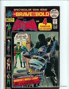 Brave & Bold 100 DC comic Book 1972 F-VF Black Canary Green Arrow!