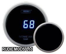 Prosport 52mm Ahumado Digital Aire o Intercooler Temperatura de entrada Calibre Grados C