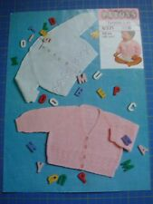Patons Baby Top's Knitting Pattern 6371
