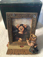 Boyds Bearstones Frame THE COLLECTOR'S MASTERPIECE Special Edition #27301GCC