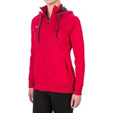 Mizuno - Womens M - NWT - Red Full-Zip Hooded/Hoodie Sweatshirt Track Jacket