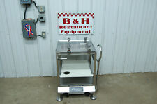 Face To Face Hobart Globe Slicer Deli Buddy Stainless Steel Table Cart