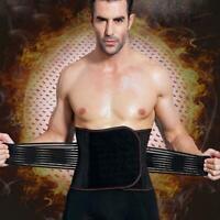 Männer Bauch Gürtel Taille Korsett Gewichtsverlust abnehmen S7D9 Bauch Body O5E7