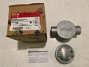 EATON CROUSE HINDS GUAC36 OUTLET FOR HAZARDOUS LOCATIONS NEW IN BOX