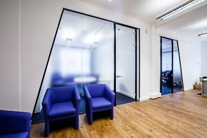 Office Glass Wall Installation