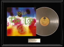 THE CURE THE TOP ALBUM FRAMED LP WHITE GOLD PLATINUM TONE RECORD VINYL RARE