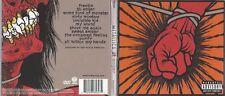 CD--METALLICA --ST ANGER--DIGI ----CD + DVD- LIKE NEW