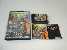 Golden Axe II Mega Drive Spiel komplett mit OVP und Anleitung