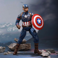 """New Captain America With Replace Hand Marvel Avengers Legends Action Figure 7"""""""