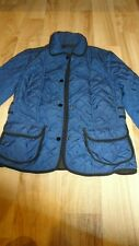 ZARA PADED NAVY JACKET  SIZE SMALL IN EXCELLENT CONDITION