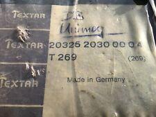 Bremsbeläge Mercedes Unimog, Original TEXTAR 20 325 2030, T269, Made in Germany