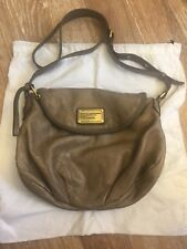 Marc by Marc Jacobs Classic Q Natasha Crossbody Taupe Used