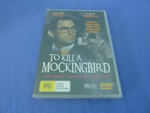 To Kill A Mockingbird DVD Gregory Peck Robert Duvall R0 New Sealed Free Postage