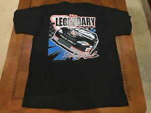 2001 Vintage NASCAR The Legendary DALE EARNHARDT T SHIRT XL New Dead stock