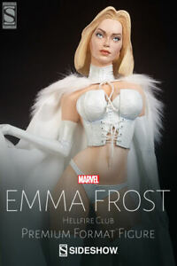 "Sideshow Emma Frost ""Hellfire Club"" Premium Format (Exclusive) Statue #713"