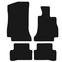 Mercedes C-Class 2014 - Onwards Coupe Black Floor 3mm Rubber Tailored Car Mats