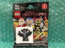 Lego Minifigures 8833 Series 8 Vampire Bat. Brand New/Sealed Packet!