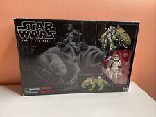 Star Wars Black Series Dewback & Sandtrooper MISB and Black Pauldron Sandtrooper