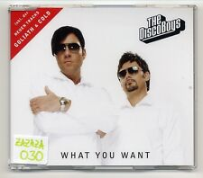 The Disco Boys Maxi-CD What You Want - 6-track - SUPER 3080