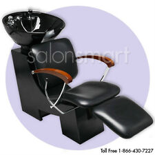 Shampoo Unit Backwash Bowl Chair Salon Equipment - dsh