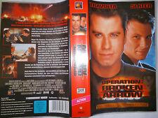 Operation: Broken Arrow mit Travolta und Slater FSK frei ab 16 Jahre VHS gebr