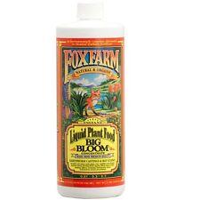 Fox Farm Big Bloom 32 oz fertilizer natural & organic nutrients FoxFarm 2 lb