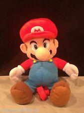 """Super Mario Bros Mario Plush Doll Backpack 18"""" 2010 Nintendo Unused COLLECTOR 3+"""