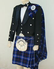 18 Pcs | SCOTTISH PRINCE CHARLIE JACKET & KILT OUTFIT SET | PCJK18 | Geoffrey