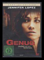 DVD GENUG - JEDER HAT EINE GRENZE - SPECIAL EDITION - JENNIFER LOPEZ *** NEU ***