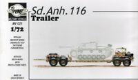 Planet Models 1:72 Sd. Anh. 116 Trailer Resin Model Kit #MV025