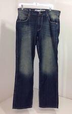 NWT Men's Mecca Straight fit Vintage wash jeans DM9021 Size 34×32 $89