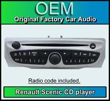 Renault Scenic CD lecteur MP3, Renault 7649189391 Voiture Stéréo + radio code