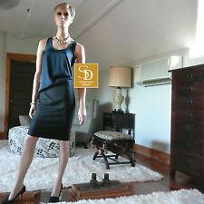 J Crew Black Pencil Skirt in Super 120's Wool NWT $128 Sz 8P    Style 86562