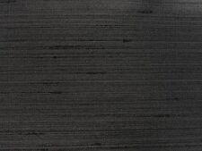 PRESTIGIOUS TEXTILES SILK LOOK TAICHUNG 7106 BLACK 900 CURTAIN FABRIC PER METRE