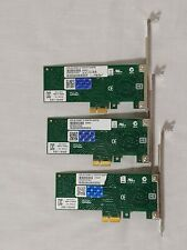 Intel Gigabit Ct Desktop Network Adapter Pcie (Pci Express) Lot of 3