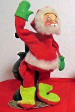 Annalee Christmas Santa Claus Stove 1971 Posable Ec