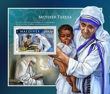Maldiven / Maldives - Postfris/MNH - Sheet Mother Teresa 2016