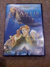 ATLANTIS - THE LOST EMPIRE (DVD) (2002) DISNEY UK REGION 2 *NEW*