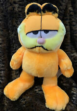 """Vintage Garfield Plush Stuffed Animal made by """"Play by Play """"- 12"""" soft"""