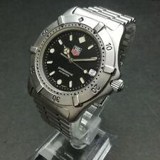 TAG HEUER Watch WE1110-R Black Dial   Quartz St.Steel Date   T3829