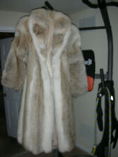Vintage Coyote Fur Long Full Length Coat Jacket Womens - unsure of size m/s