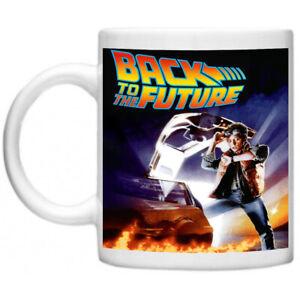 Back To The Future Delorean Marty McFly Movie Memorabilia Tea Coffee Mug Cup