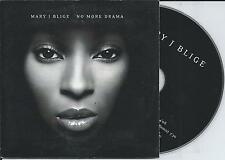 MARY J. BLIGE - No more drama CD SINGLE 2TR EU CARDSLEEVE 2002