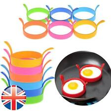 *UK Seller* Silicone Round Ring Fried Fry Frier Oven Poacher Pancake Egg