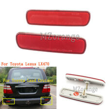 Rear Bumper Reflector Tail Light Lamp For Toyota Lexus LX470 Land Cruiser LC100
