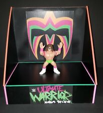 WWF/WWE Custom made Ultimate Warrior display set for werstling figs. no fig inc